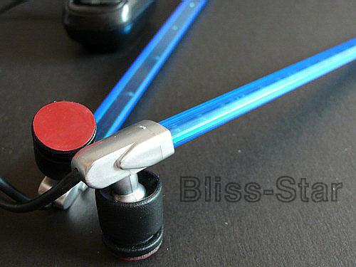 Blue Led Tube Sound Activate Car Interior Light Kit 39 Ebay